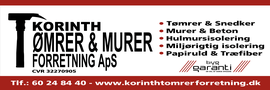 KORINTH TØMRER & MURERFORRETNING ApS